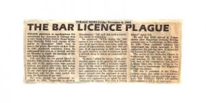 Tobago Lawyers Association - News Archive - Scan of Newspaper article 08-11-85 small 300x400