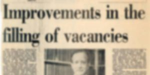 Improvements in the filling of vacancies small